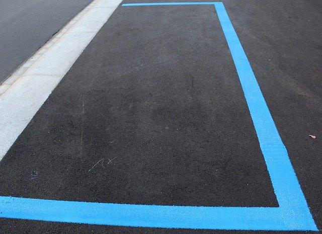 modré parkovací zóny