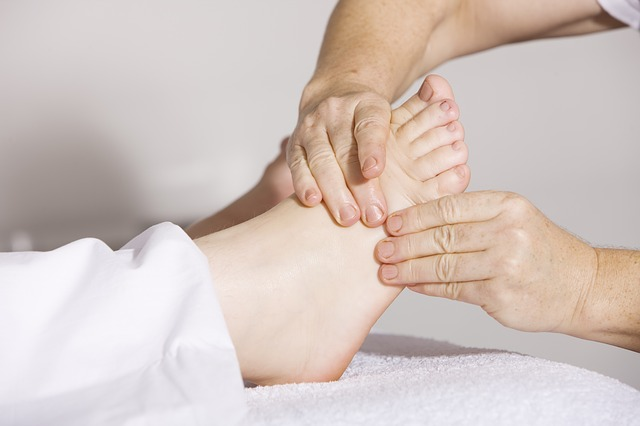 fyzioterapie nohou