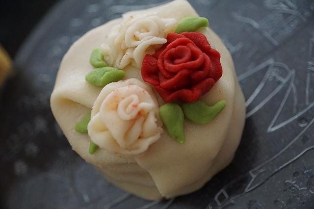 marcipán růže