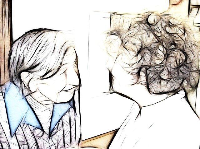 pečovatelka se seniorkou