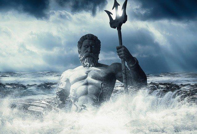 poseidon v moři