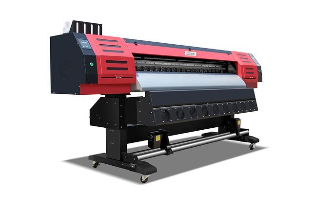 červenočerná tiskárna