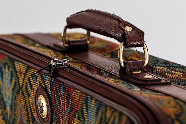 detail zavazadla