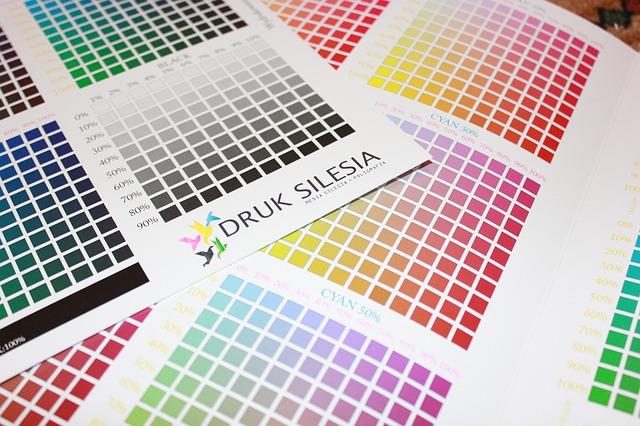 tiskové barvy