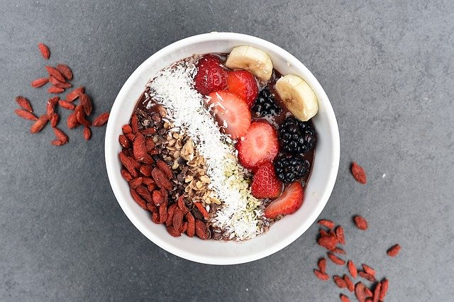 zdravá dietní snídaně
