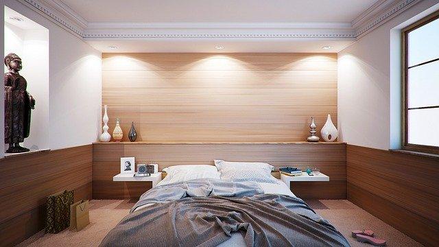 ložnice ve starém stylu